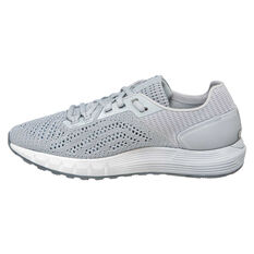 Under Armour HOVR Sonic 2 Womens Running Shoes Grey / White US 6, Grey / White, rebel_hi-res