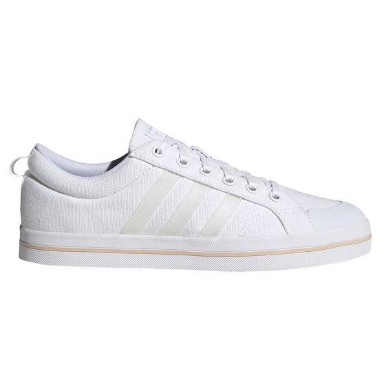 adidas Bravada Womens Casual Shoes, White, rebel_hi-res