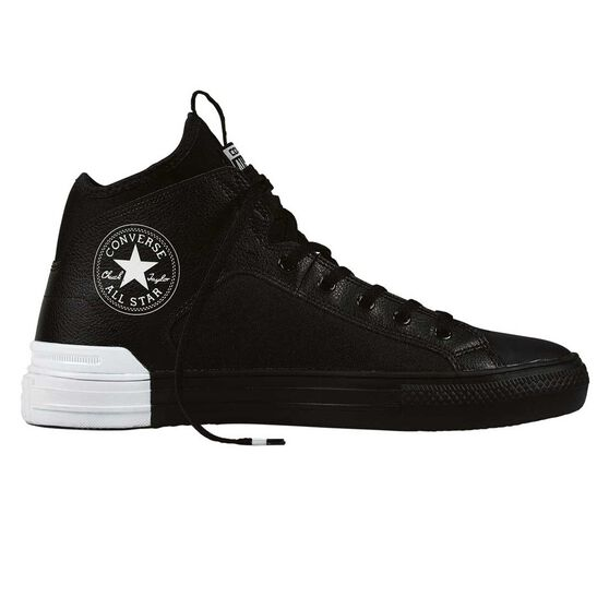 54dbf54f377d18 Converse Chuck Taylor All Star Ultra High Top Casual Shoes Black   White US  5