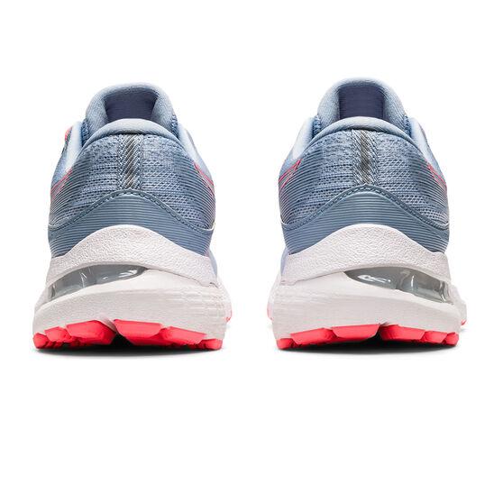 Asics GEL Kayano 28 Kids Running Shoes, Blue/White, rebel_hi-res