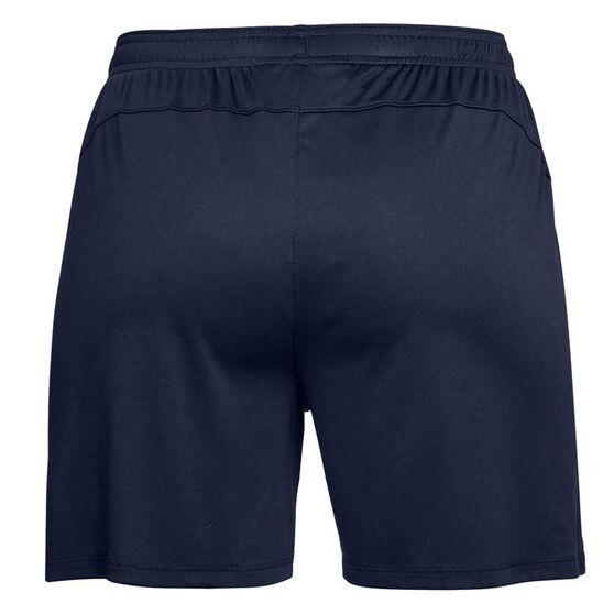 Under Armour Womens Golazo 2.0 Soccer Shorts, Navy, rebel_hi-res