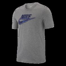 Nike Mens Sportswear Virus Tee Grey S, Grey, rebel_hi-res