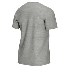 NikeCourt Mens Tennis Tee Grey XS, Grey, rebel_hi-res