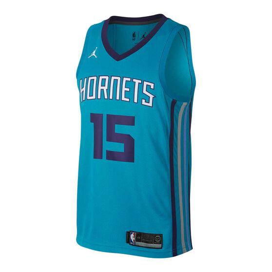 promo code 19406 6a3b5 Nike Charlotte Hornets Kemba Walker 2019 Mens Swingman Jersey