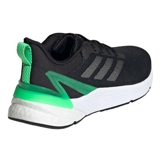 adidas Response Super 2.0 Kids Running Shoes, Black/Green, rebel_hi-res