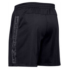 Under Armour Mens MK 1 Wordmark Shorts, Black, rebel_hi-res