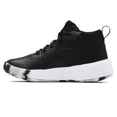 Under Armour Lockdown 5 Kids Basketball Shoes Black US 13, Black, rebel_hi-res