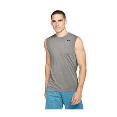 Nike Mens Dri-FIT Legend 2.0 Training Tank Grey S, Grey, rebel_hi-res