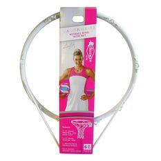 Reliance Laura Geitz Netball Ring and Net Set White, , rebel_hi-res