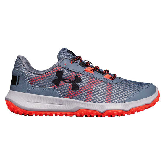 Under Armour Toccoa Womens Trail Running Shoes Grey   Red US 6 ... b6aaf1d235e