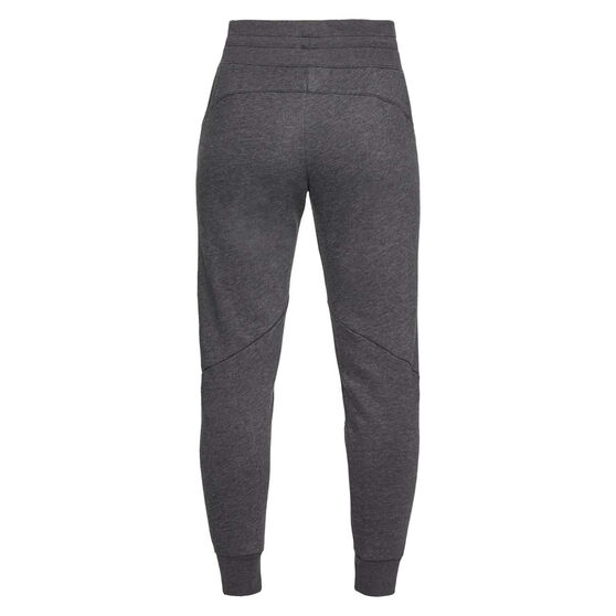 Under Armour Womens Taped Fleece Pants Black XL, Black, rebel_hi-res