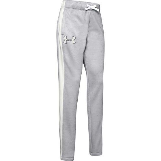 Under Armour Girls Armour Fleece Pants, , rebel_hi-res