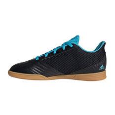 adidas Predator 19.4 SALA Kids Indoor Soccer Shoes Black / Blue US 11, Black / Blue, rebel_hi-res