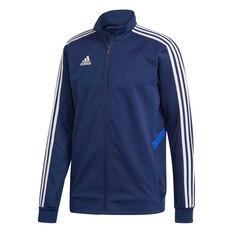 adidas Mens Tiro 19 Training Jacket Blue S, Blue, rebel_hi-res