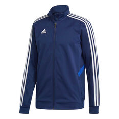 adidas Mens Tiro 19 Training Jacket Blue S e2c59296d