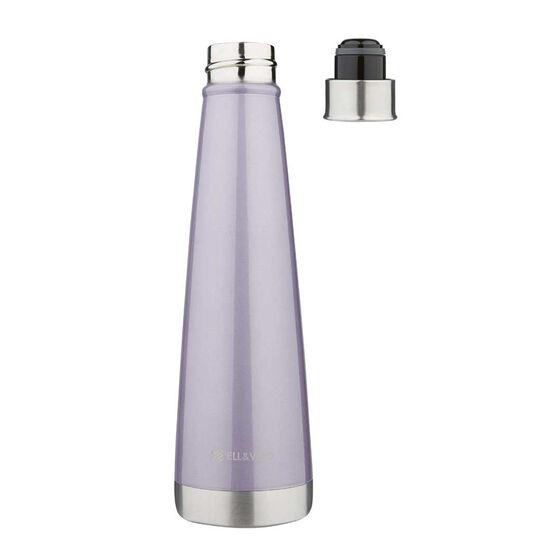 Ell & Voo Aria 430ml Insulated Drink Bottle Purple, Purple, rebel_hi-res