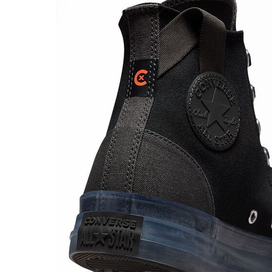 Converse Chuck Taylor All Star CX High Top Mens Casual Shoes, Black, rebel_hi-res