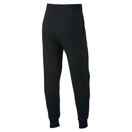 Nike Girls Sportswear Pants Black / White XS, Black / White, rebel_hi-res