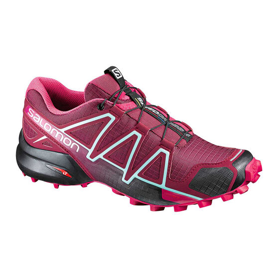 size 40 51487 235b3 Salomon Speedcross 4 Womens Trail Running Shoes Pink / Grey US 9.5