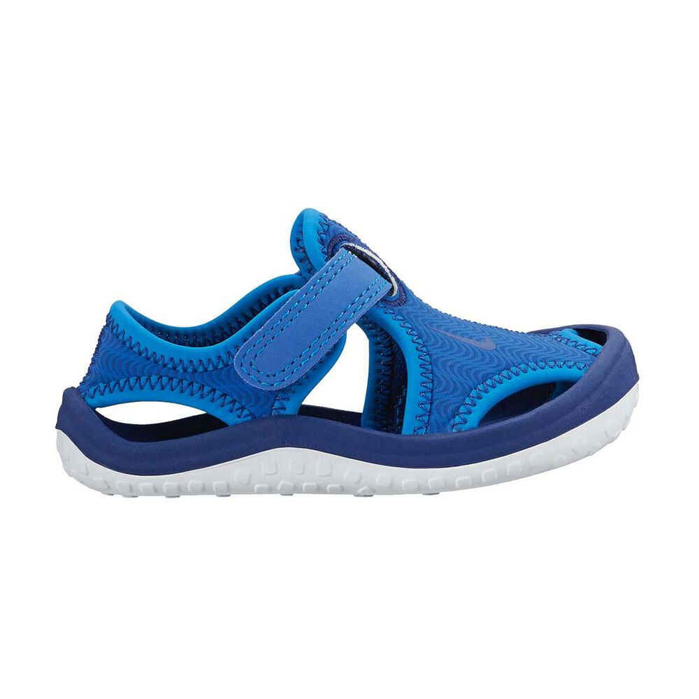 249f5d041ddc Nike Sunray Protect Toddlers Sandals Blue   White US 3