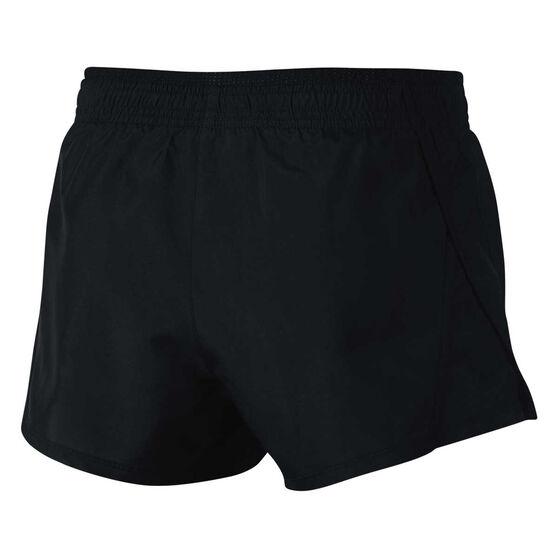 Nike Womens 10K Running Shorts, Black, rebel_hi-res