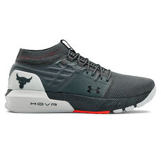 Under Armour Project Rock 2 Mens Training Shoes Grey US 8, Grey, rebel_hi-res
