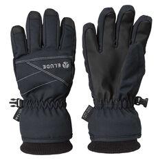 Elude Boys Icon Gloves Black 4, Black, rebel_hi-res