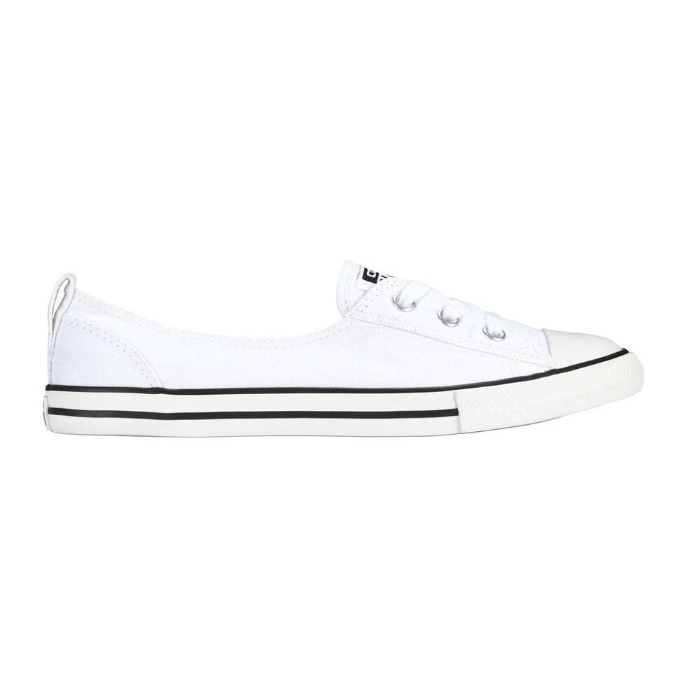 469c67b895607a Converse Chuck Taylor All Star Ballet Womens Casual Shoes White US ...