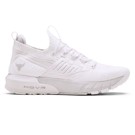 Under Armour Project Rock 3 Mens Training Shoes, White, rebel_hi-res