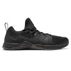 Nike Metcon Flyknit 3 Mens Training Shoes Black US 7, Black, rebel_hi-res
