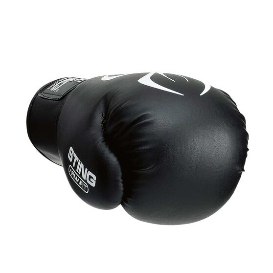 Rebel Sport Inner Gloves: Sting Armafit Boxing Glove Black 10oz