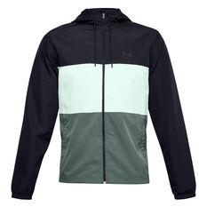 Under Armour Mens Sportstyle Wind Jacket Black XS, Black, rebel_hi-res
