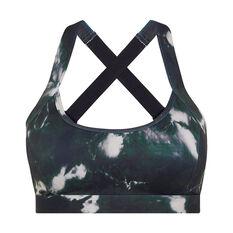 L'urv Womens Elliptical Bralette Green XS, Green, rebel_hi-res