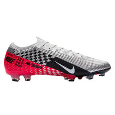 Nike Mercurial Vapor XIII Elite Neymar Jr Football Boots Chrome / Black US Mens 7 / Womens 8.5, Chrome / Black, rebel_hi-res