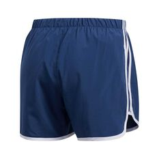 adidas Womens Marathon 20 Running Shorts Navy XS, Navy, rebel_hi-res
