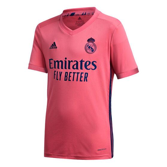Real Madrid CF 2020/21 Kids Away Jersey, Pink, rebel_hi-res