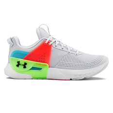 Under Armour HOVR Apex Mens Training Shoes Grey US 8, Grey, rebel_hi-res