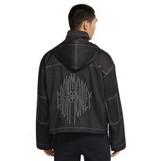 Nike Mens KD Basketball Jacket Black S, Black, rebel_hi-res