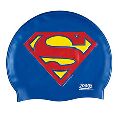 Zoggs Superman Swim Cap, , rebel_hi-res