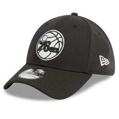 Philadelphia 76ers 39THIRTY Black White Cap Black / White S / M, Black / White, rebel_hi-res