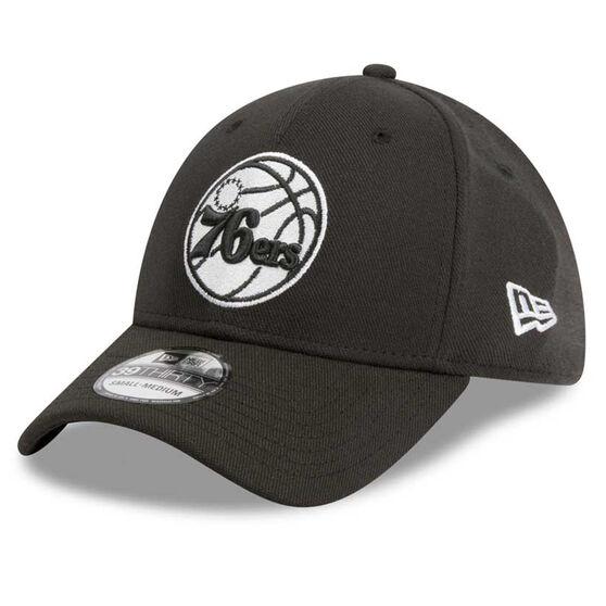 Philadelphia 76ers 39THIRTY Black White Cap, , rebel_hi-res