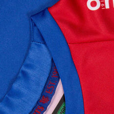 Newcastle Knights 2021 Kids Home Jersey, Blue/Red, rebel_hi-res
