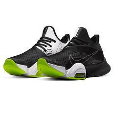 Nike Air Zoom SuperRep Mens Training Shoes, Black/White, rebel_hi-res