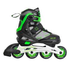 Goldcross 225 Inline Skate Green US 3 - 6, Green, rebel_hi-res