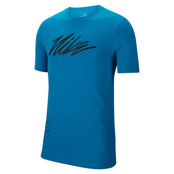 Nike Mens Dri-FIT Graphic Training Tee, , rebel_hi-res