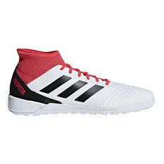 adidas Predator Tango 18.3 Mens Indoor Soccer Shoes White / Black US 7 Adult, White / Black, rebel_hi-res
