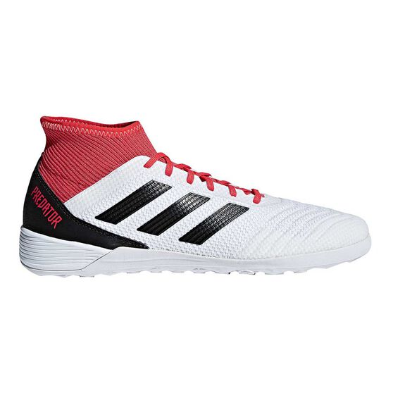 5e75d3223cc adidas Predator Tango 18.3 Mens Indoor Soccer Shoes White   Black US 10  Adult