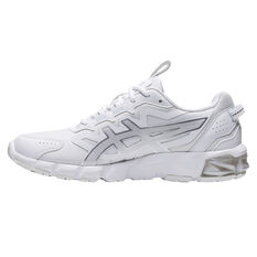 Asics GEL Quantum 90 Womens Casual Shoes White/Silver US 6, White/Silver, rebel_hi-res