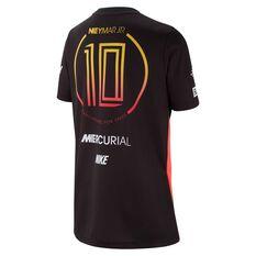 Nike Boys Neymar Jr. Soccer Tee Black / Red XS, Black / Red, rebel_hi-res