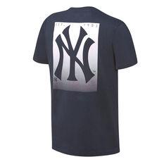 Majestic Mens New York Yankees Lance Tee Navy S, Navy, rebel_hi-res